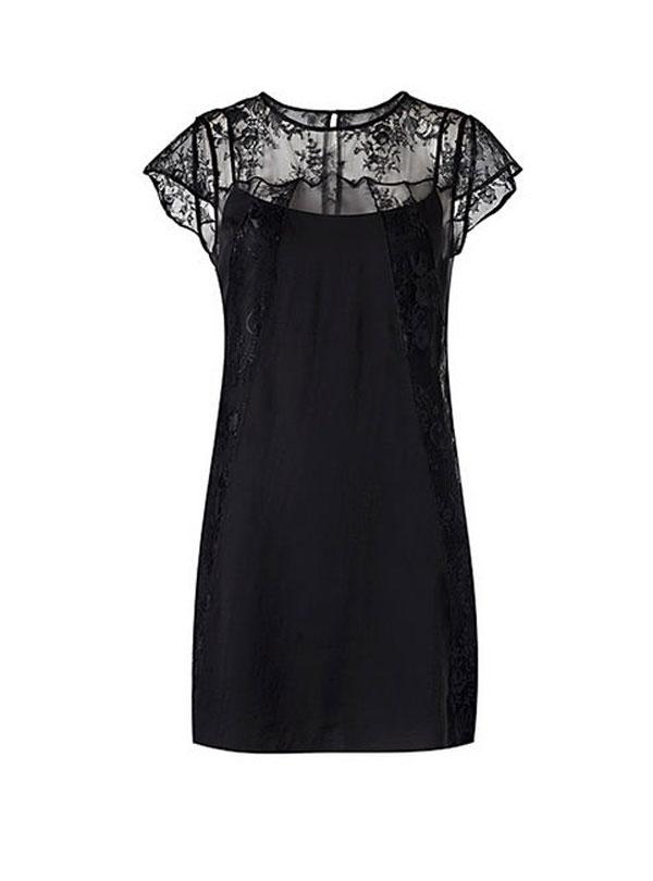 vestido-corto-negro-encaje-en-escote-y-espalda
